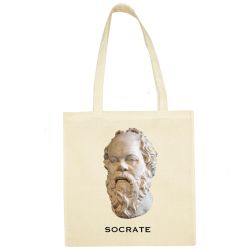 Sac Shopping ECRU Socrate