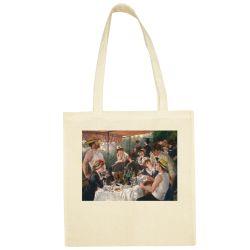 Sac Shopping ECRU Auguste Renoir - Le dejeuner des cannotiers