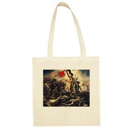 Sac Shopping ECRU Eugene Delacroix - La liberte guidant le peuple
