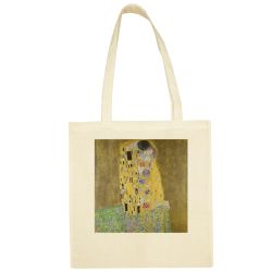 Sac Shopping ECRU Gustav Klimt - Le Baiser