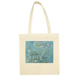 Sac Shopping ECRU Vincent Van gogh - Amandier en fleurs