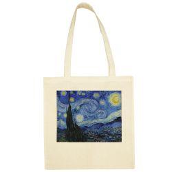 Sac Shopping ECRU Vincent Van Gogh - La nuit Etoilee