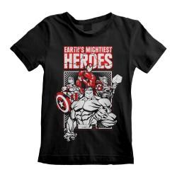 T-shirt Enfant NOIR Marvel...