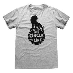 T-shirt GRIS CHINE Lion...