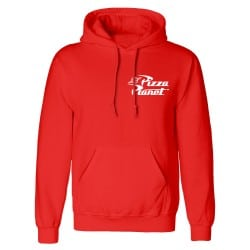 Sweat capuche ROUGE Toy...