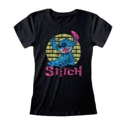 T-shirt Femme NOIR Lilo...