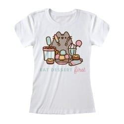 T-shirt Femme BLANC Pusheen...