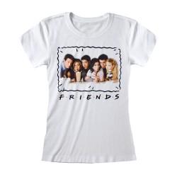 T-shirt BLANC Friends -...