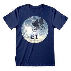 T-shirt Blue ET - Moon Ride...