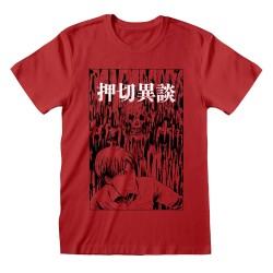 T-shirt ROUGE Junji Ito -...