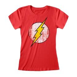 T-shirt Femme ROUGE DC...