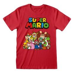 T-shirt ROUGE Nintendo...