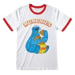 T-shirt Ringer BLANC ROUGE...