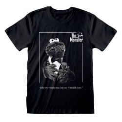 T-shirt NOIR Sesame Street...
