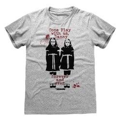 T-shirt GRIS CHINE Shining,...