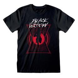 T-shirt NOIR Black Widow...