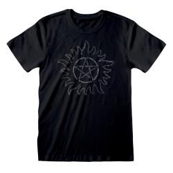 T-shirt NOIR Supernatural -...