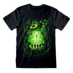 T-shirt NOIR Ghostbusters - Dan Mumford