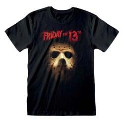 T-shirt NOIR Friday the...