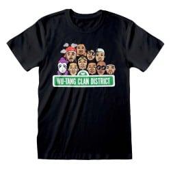 T-shirt NOIR Wu Tang Clan -...