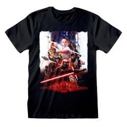 T-shirt NOIR Star Wars IX -...