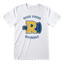 T-shirt BLANC Riverdale -...