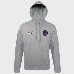 Sweat Shirt Capuche GRIS Logo LNH et Logo Istres Provence Handball