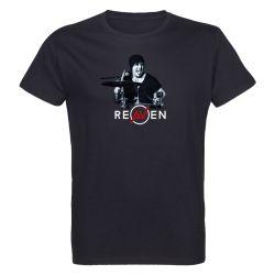 T-shirt Homme NOIR Drummer 1 Photo Noir et Blanc
