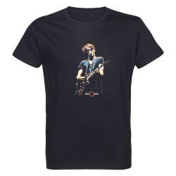 T-shirt Homme NOIR Singer 1 Photo Couleur