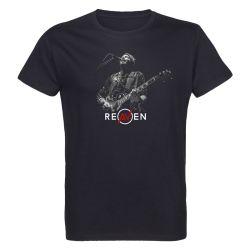 T-shirt Homme NOIR Singer 2 Photo Noir et Blanc