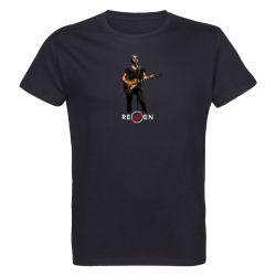 T-shirt Homme NOIR Singer 3 Photo Couleur