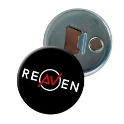 Decapsuleur NOIR Logo Reaven