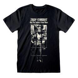 T-shirt NOIR David Bowie - Ziggy Stardust