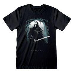 T-shirt NOIR Witcher, The - Silhouette