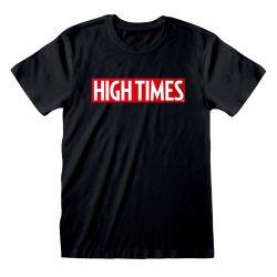 T-shirt NOIR High Times - Logo