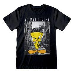 T-shirt NOIR Looney Tunes - Stweet Life