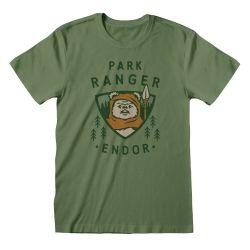 T-shirt VERT Star Wars - Endor Park Ranger