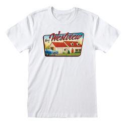 T-shirt BLANC Marvel WandaVision - Welcome to WestView