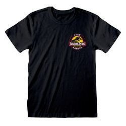 T-shirt NOIR Jurassic Park - Park Ranger