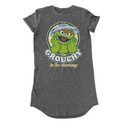 Robe ANTHRACITE Sesame Street - Grouchy In The Morning