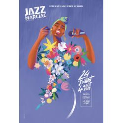 Affiche Collector Jazz In Marciac 2021
