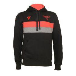 Sweatshirt Capuche Officiel Voyage ADULTE Biarritz Olympique NOIR GRIS ROUGE