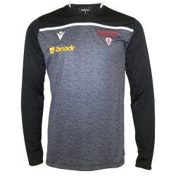 T-shirt ML Officiel Entrainement ADULTE Biarritz Olympique NOIR BLANC Grindr