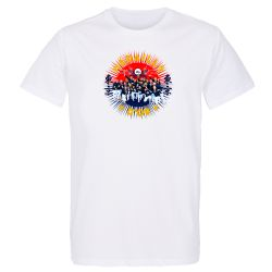 Lot de 10 T-shirts Homme BLANC Medaille d'Or 2021 Taille M
