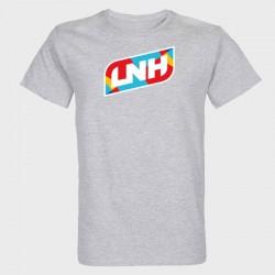 T-shirt GRIS Logo LNH Stamp