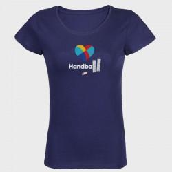 T-shirt Femme MARINE Coeur
