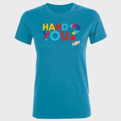 T-shirt Femme TURQUOISE...