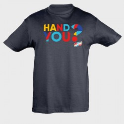 T-shirt Enfant MARINE Hand you