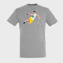 T-shirt GRIS Joueur Logo...