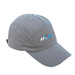 Casquette Baseball Etanche GRISE Federation Française de Voile Logo